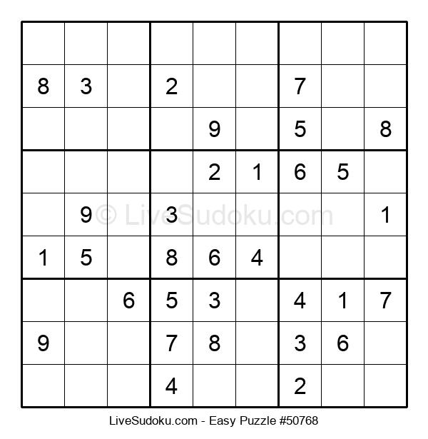 Beginners Puzzle #50768