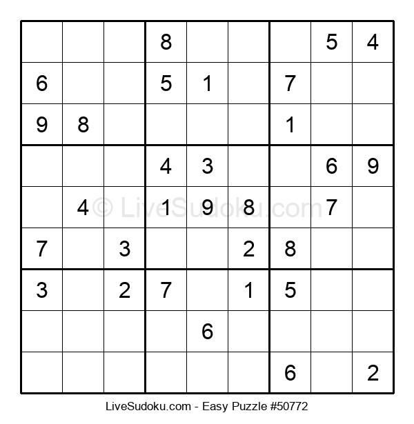 Beginners Puzzle #50772