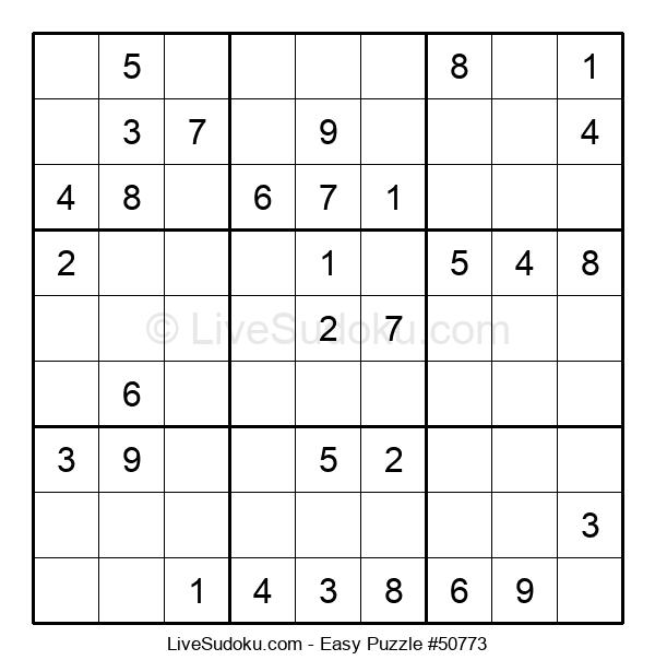 Beginners Puzzle #50773