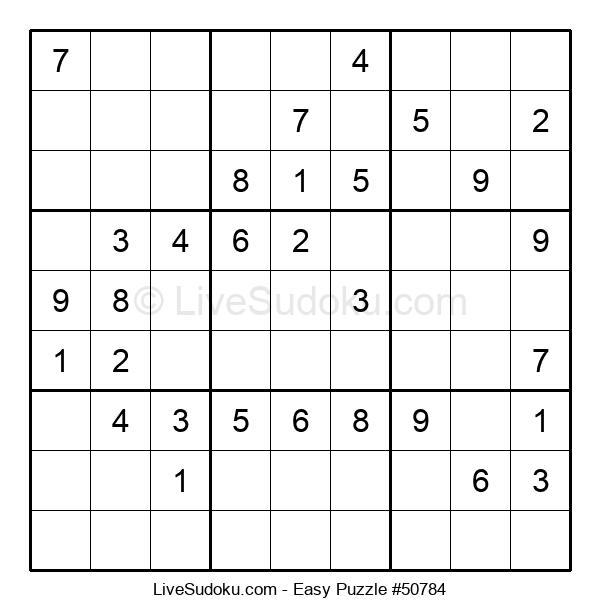 Beginners Puzzle #50784