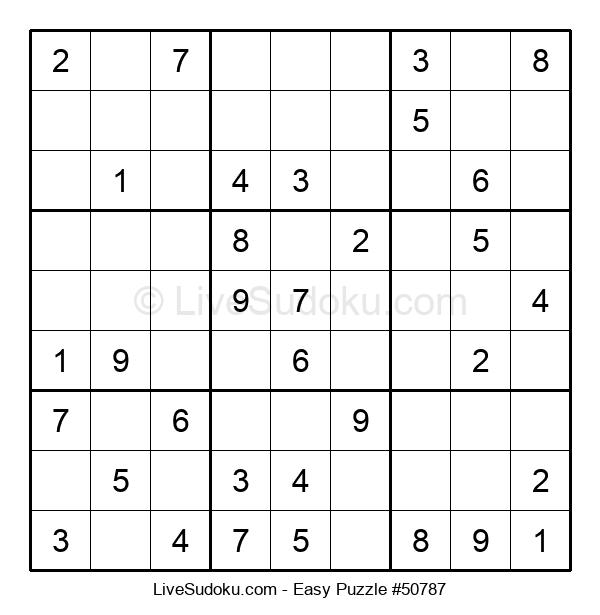 Beginners Puzzle #50787