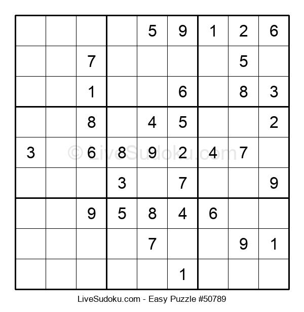 Beginners Puzzle #50789