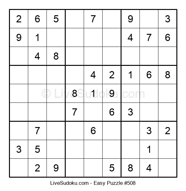Beginners Puzzle #508