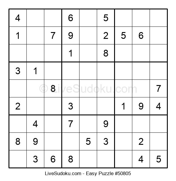 Beginners Puzzle #50805