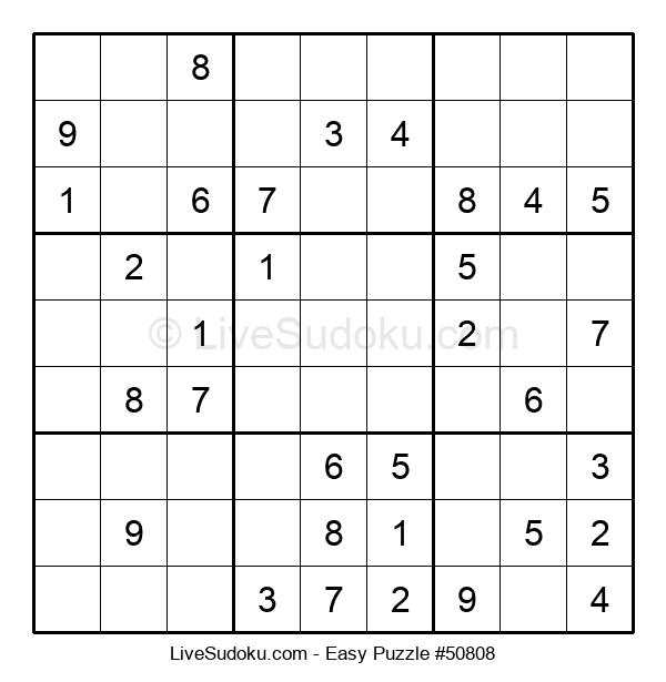 Beginners Puzzle #50808