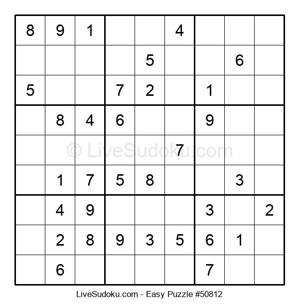 Beginners Puzzle #50812