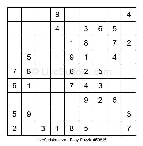 Beginners Puzzle #50815