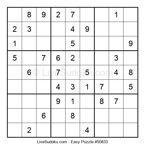 Beginners Puzzle #50833