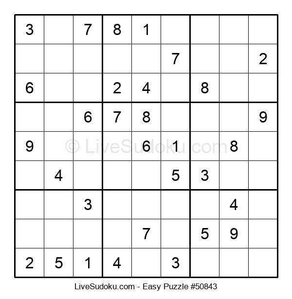 Beginners Puzzle #50843