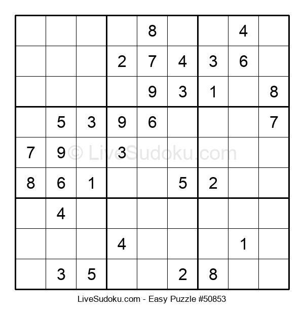 Beginners Puzzle #50853