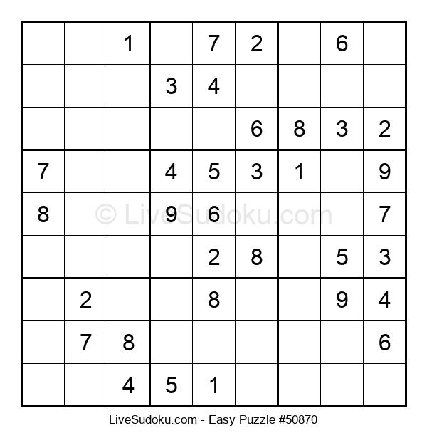 Beginners Puzzle #50870