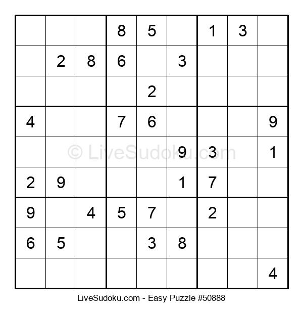 Beginners Puzzle #50888