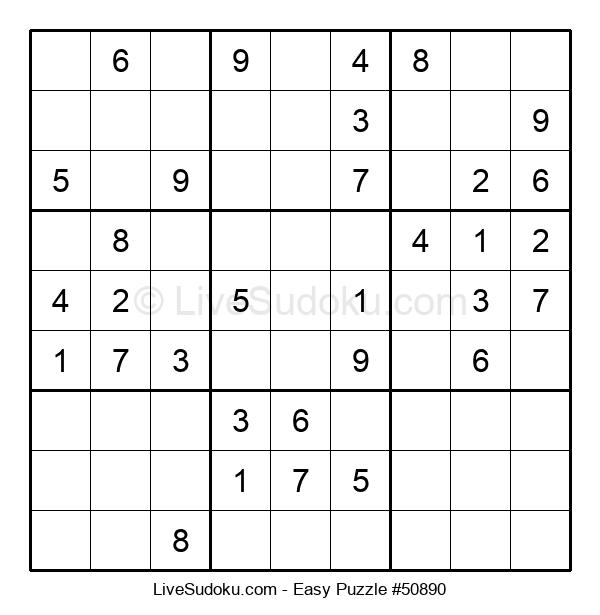 Beginners Puzzle #50890
