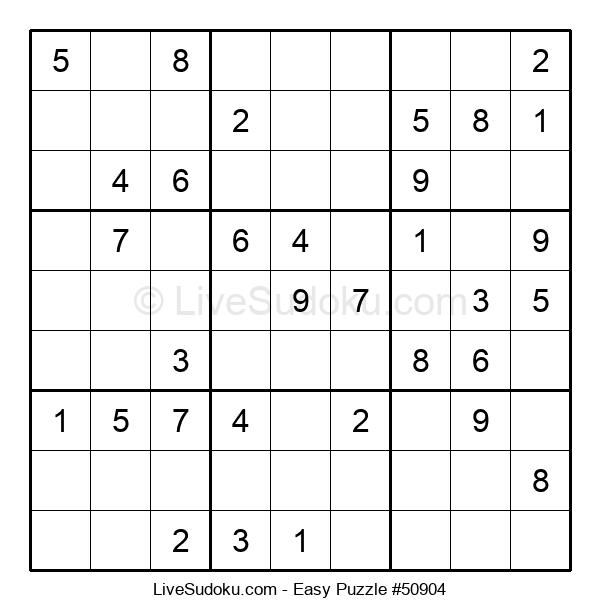 Beginners Puzzle #50904