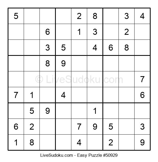 Beginners Puzzle #50929