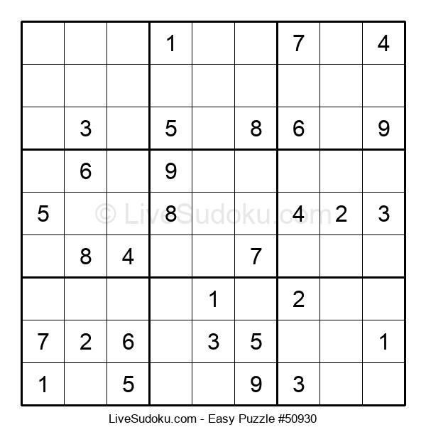 Beginners Puzzle #50930