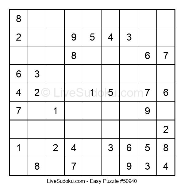 Beginners Puzzle #50940