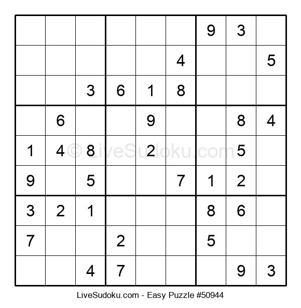 Beginners Puzzle #50944
