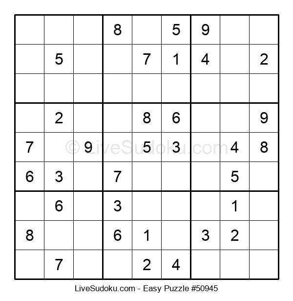 Beginners Puzzle #50945