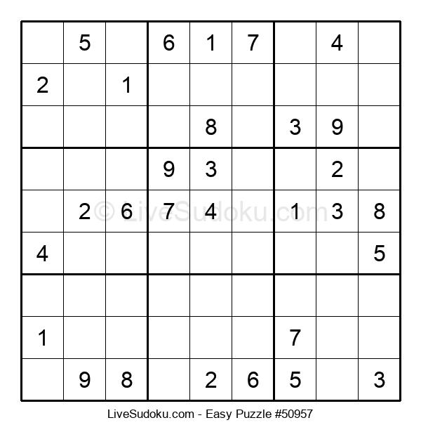 Beginners Puzzle #50957
