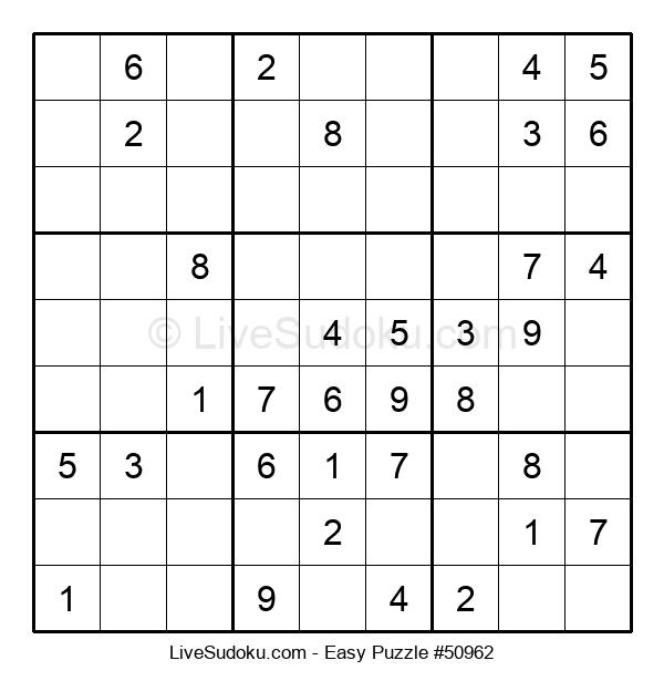 Beginners Puzzle #50962