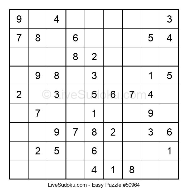 Beginners Puzzle #50964
