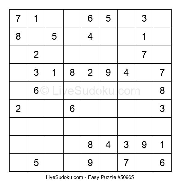 Beginners Puzzle #50965