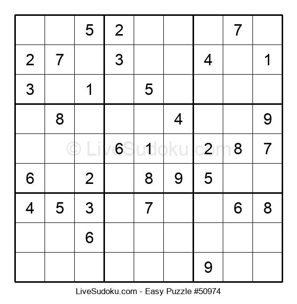 Beginners Puzzle #50974