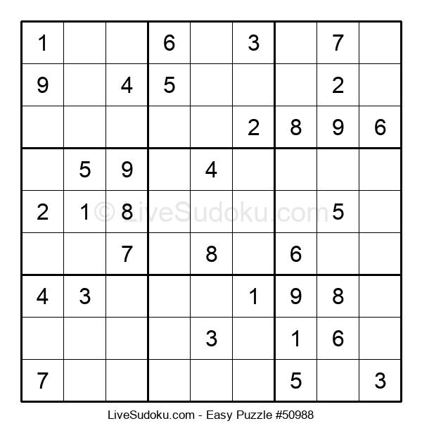 Beginners Puzzle #50988