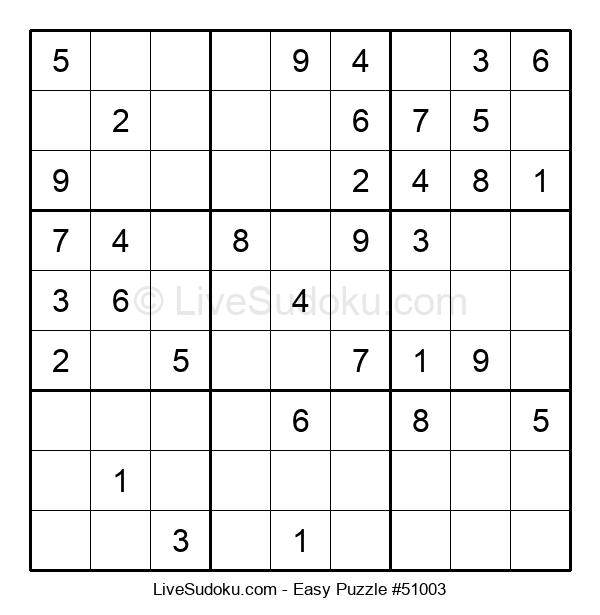 Beginners Puzzle #51003