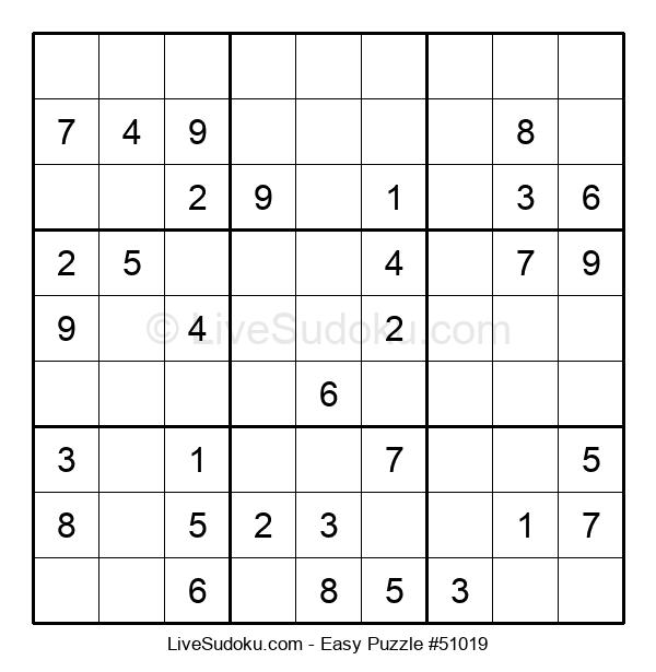 Beginners Puzzle #51019