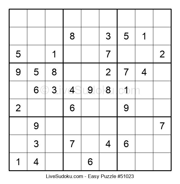 Beginners Puzzle #51023