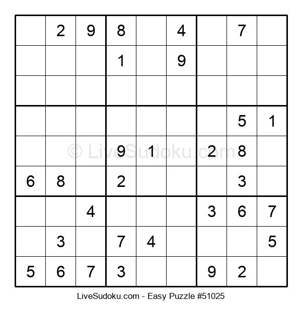 Beginners Puzzle #51025