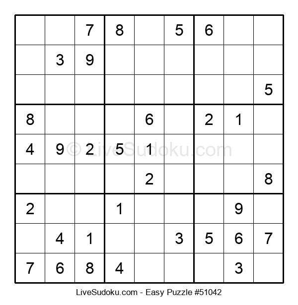Beginners Puzzle #51042