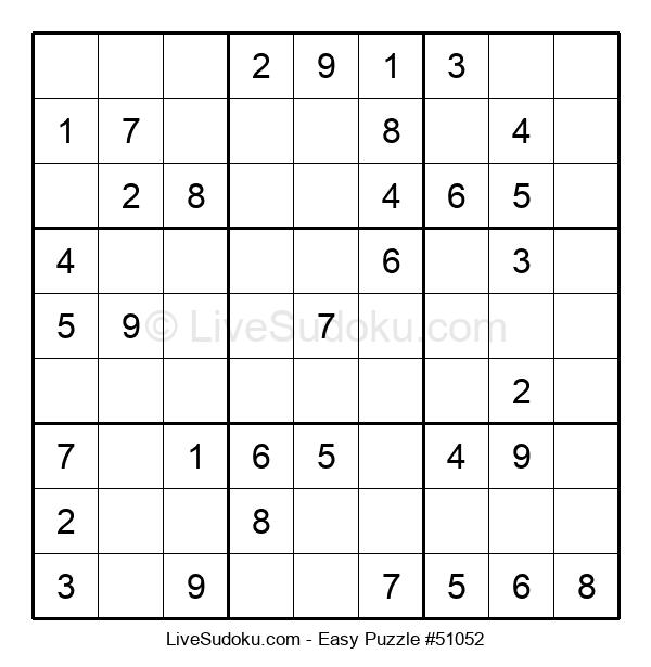 Beginners Puzzle #51052