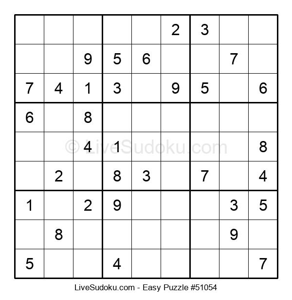 Beginners Puzzle #51054