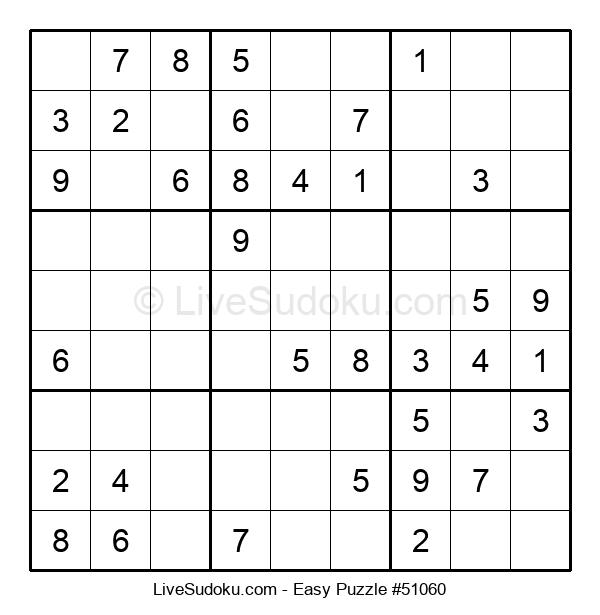 Beginners Puzzle #51060