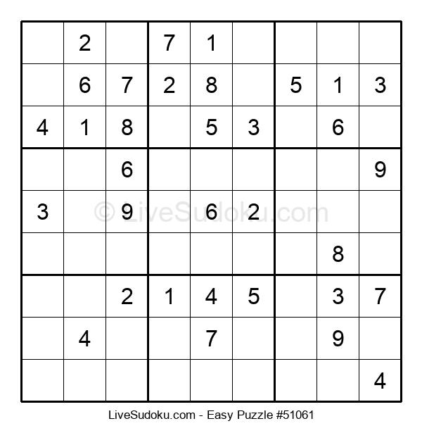 Beginners Puzzle #51061
