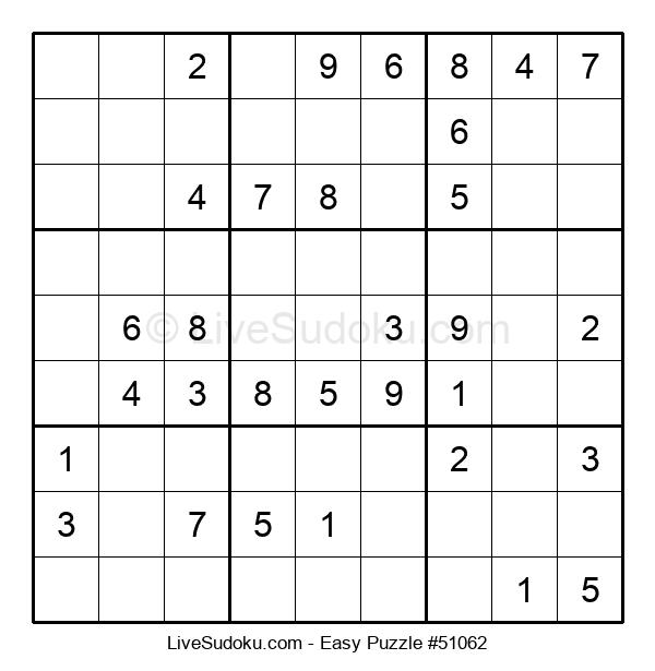 Beginners Puzzle #51062