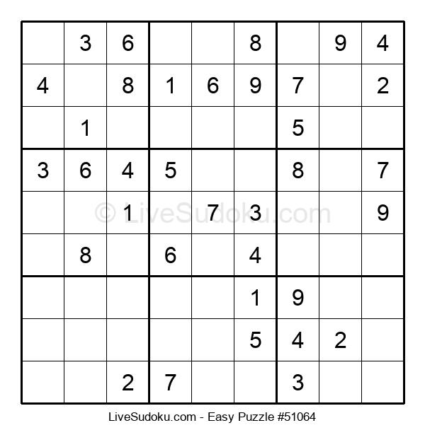 Beginners Puzzle #51064
