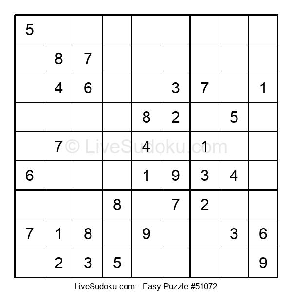 Beginners Puzzle #51072