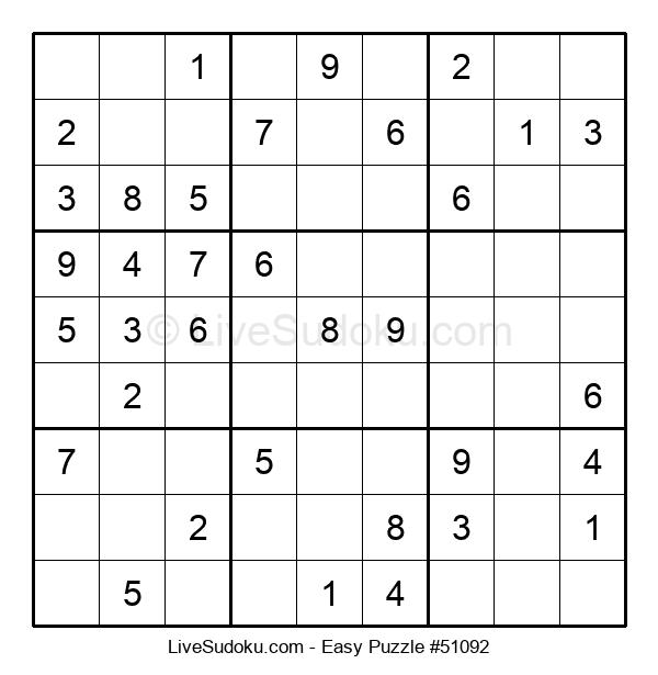 Beginners Puzzle #51092