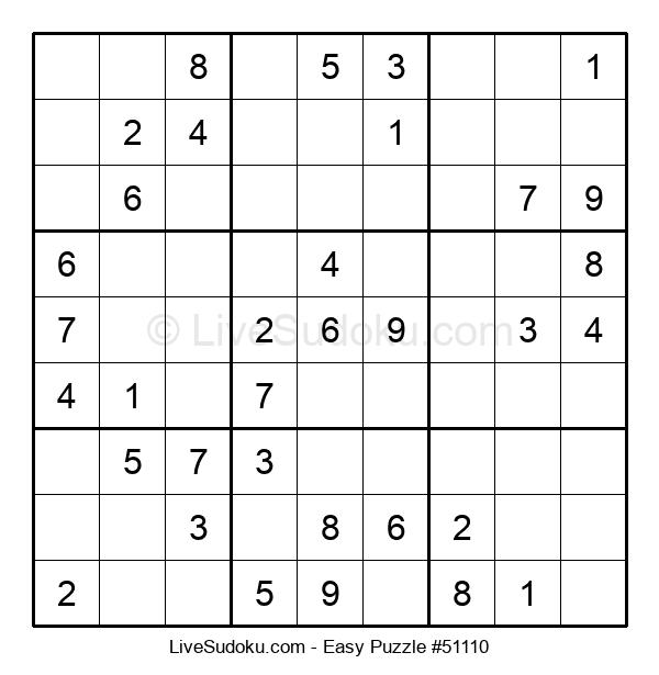 Beginners Puzzle #51110