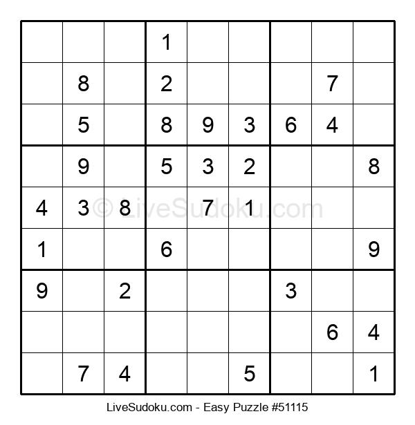 Beginners Puzzle #51115