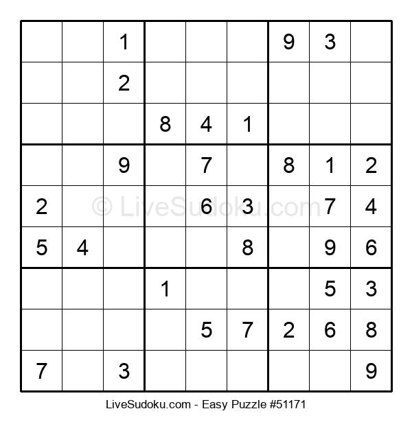 Beginners Puzzle #51171
