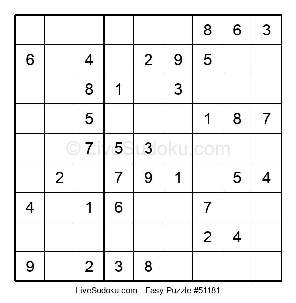 Beginners Puzzle #51181