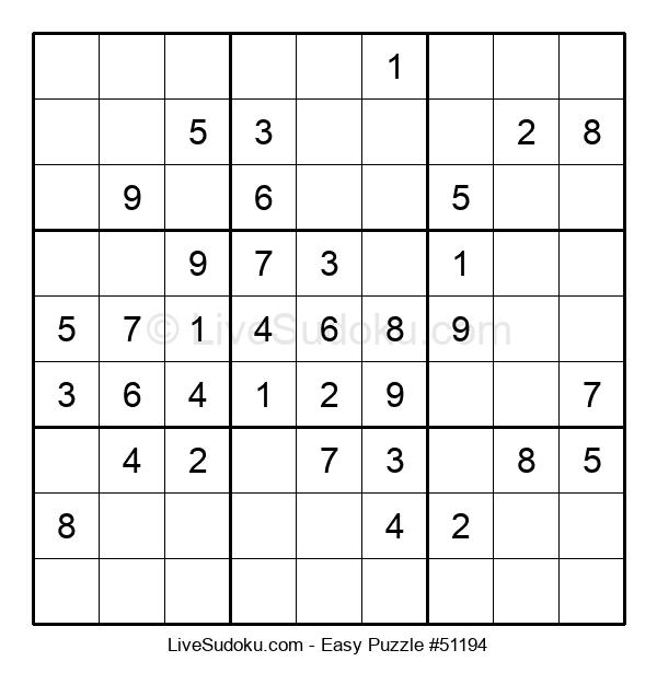 Beginners Puzzle #51194