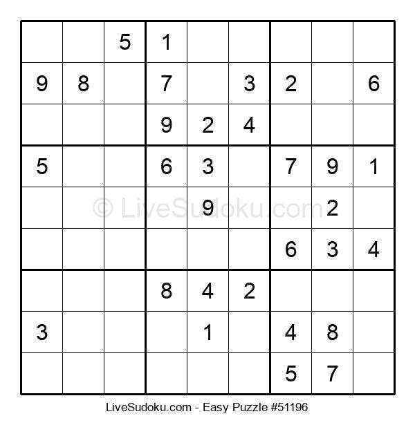 Beginners Puzzle #51196