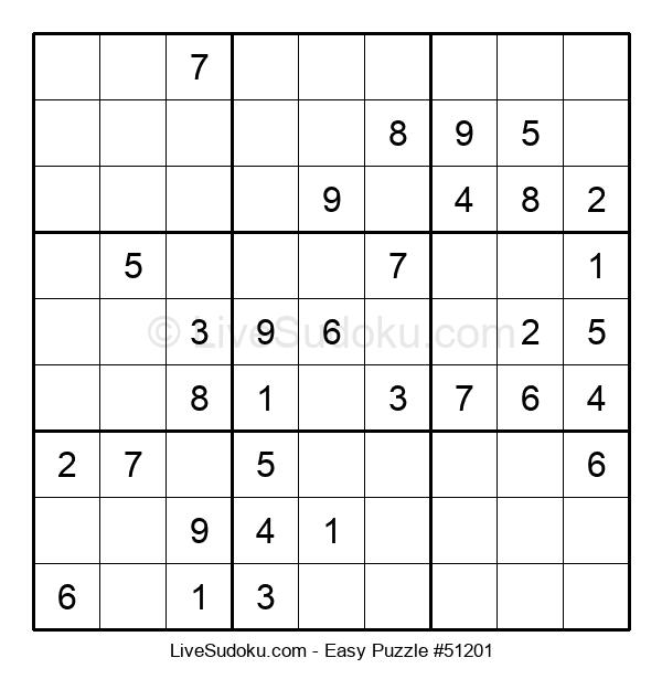 Beginners Puzzle #51201