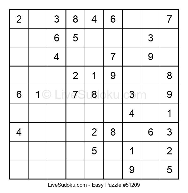 Beginners Puzzle #51209